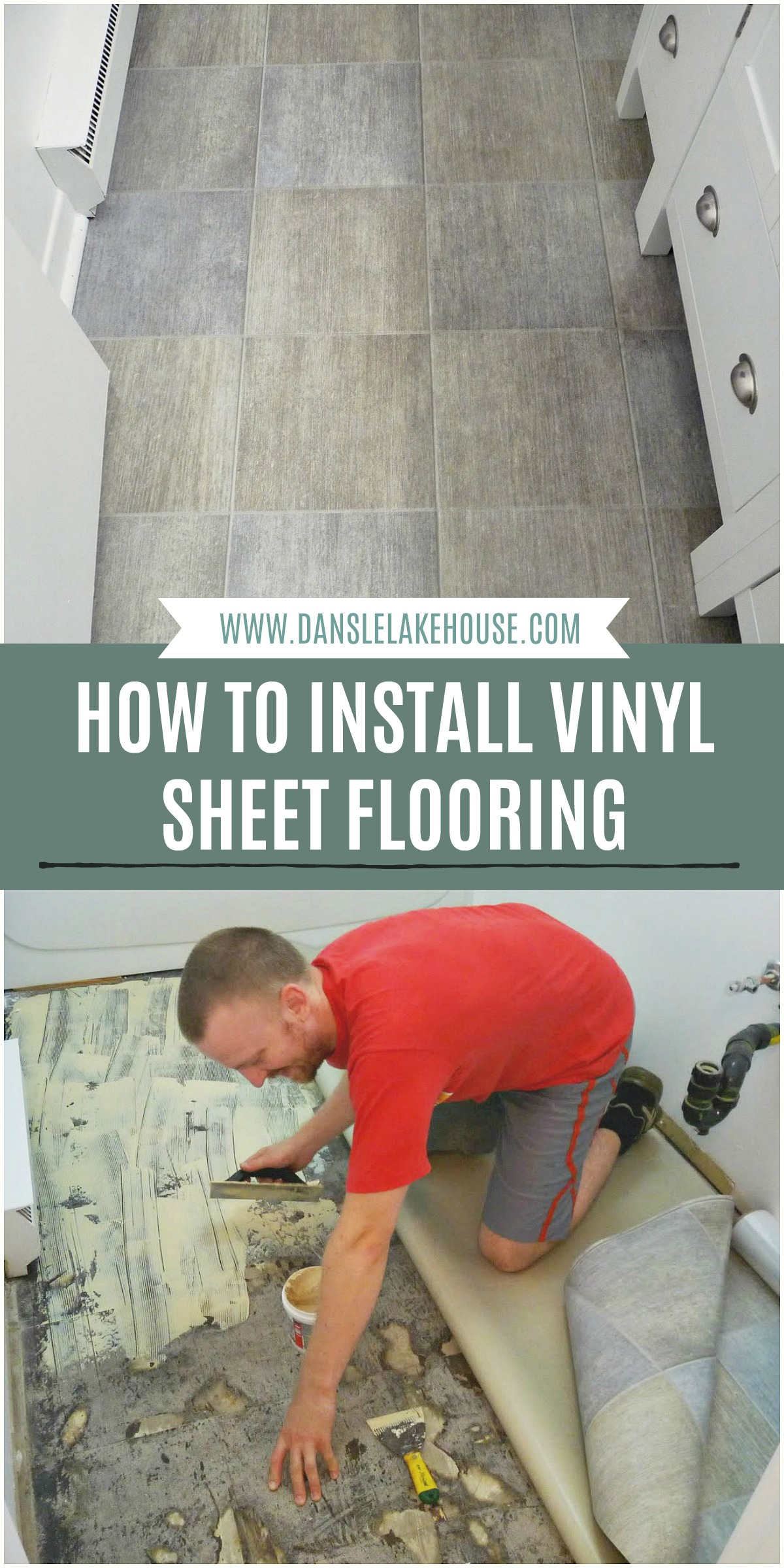 How to Install Vinyl Sheet Flooring