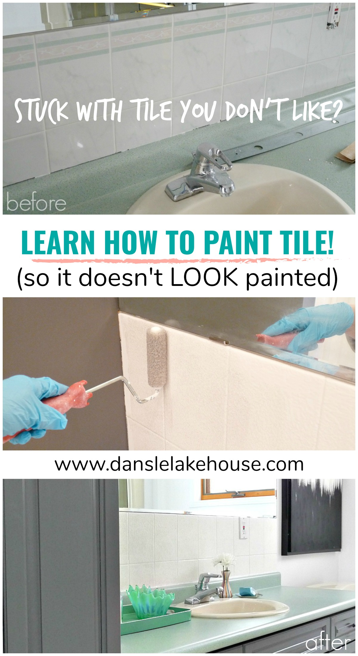 Learn How to Paint Tile