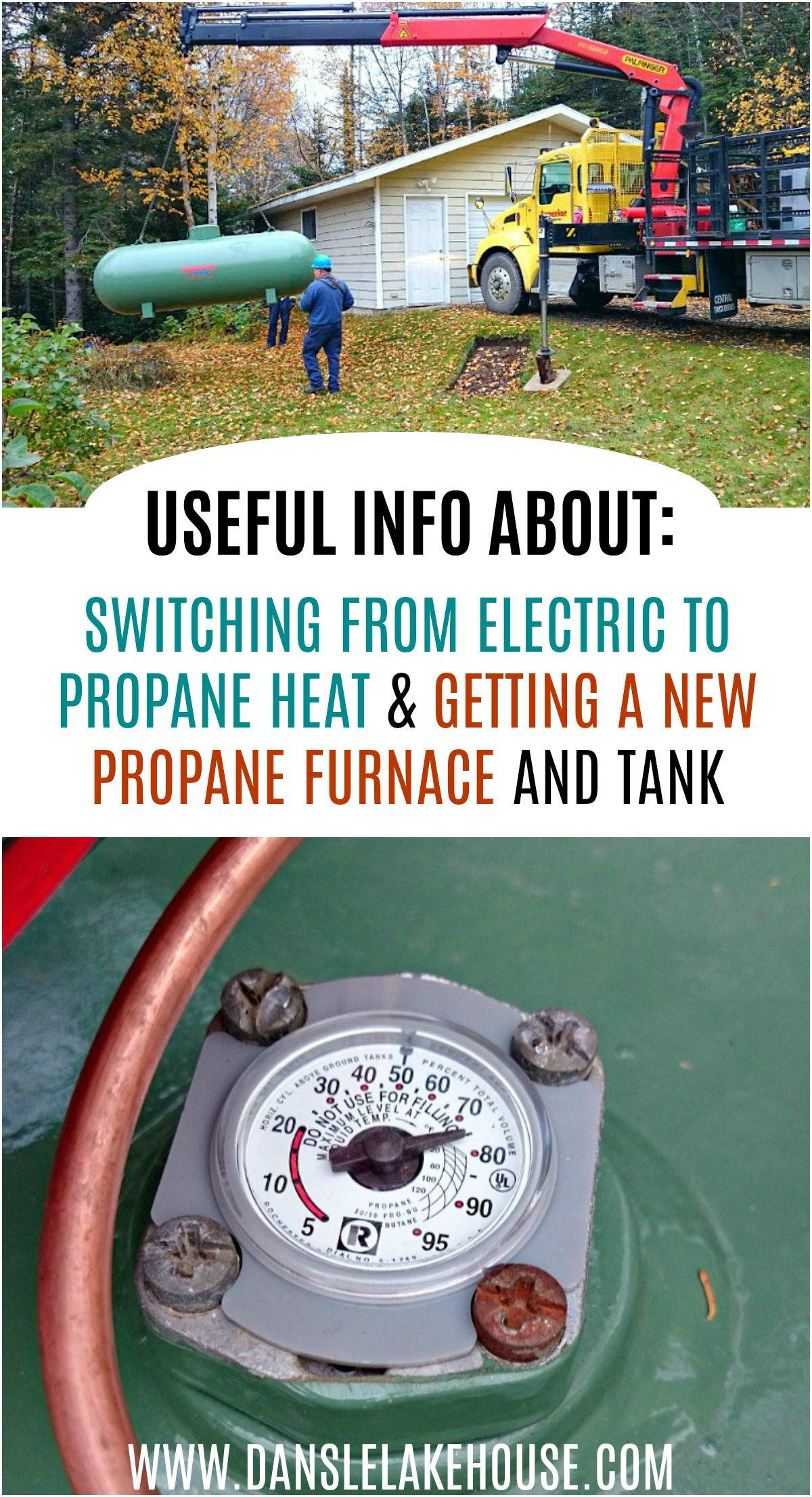 Useful Info: Switching from Electric Heat to Propane Heat, Getting a New Propane Furnace and Tank - and What to Expect!