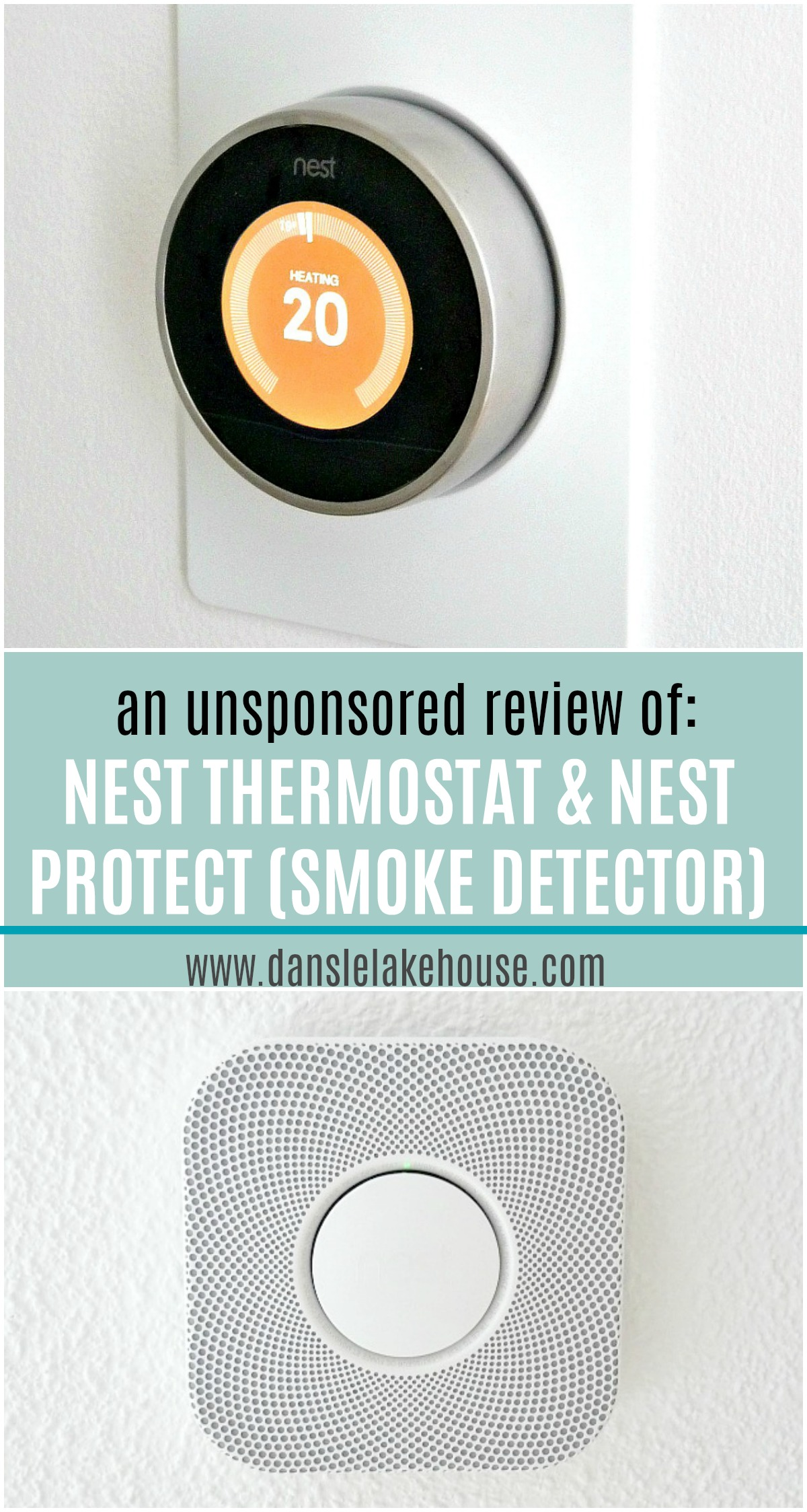 Nest Thermostat Review + Nest Protect Smoke Detector Review (NOT Sponsored)