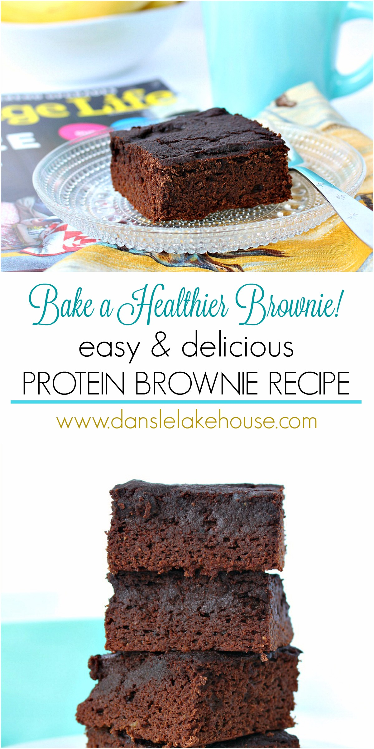 Easy and Delicious Protein Brownie Recipe - Plus Tips for Baking with Coconut Flour and Protein Powder #sugarfreebaking #proteintreats #healthybaking #quittingsugar