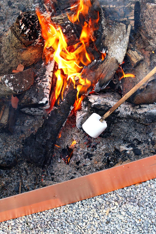 Welded Diy Fire Pit Modern Fire Pit Makeover Dans Le