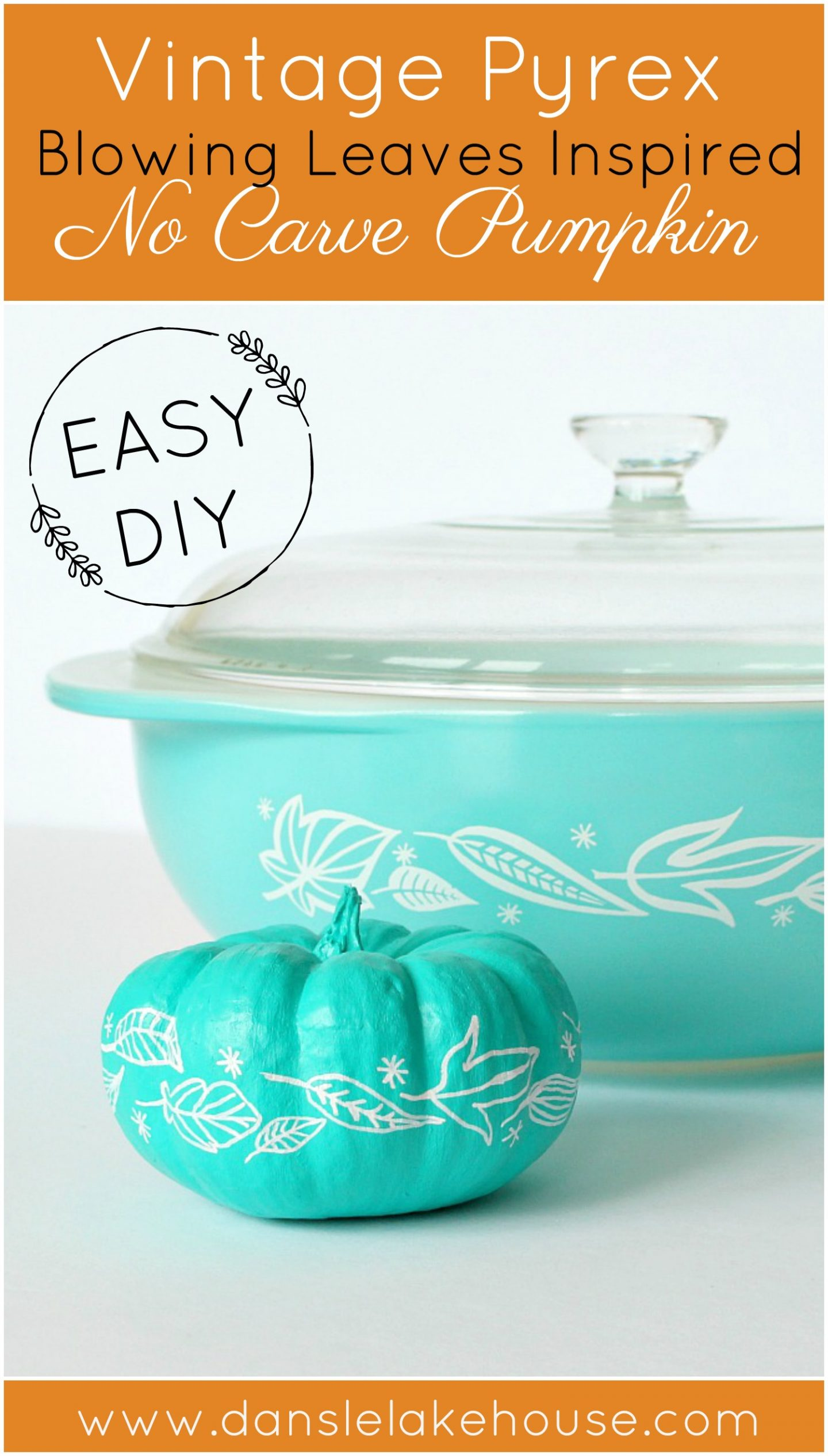 Pyrex Pumpkin Decor