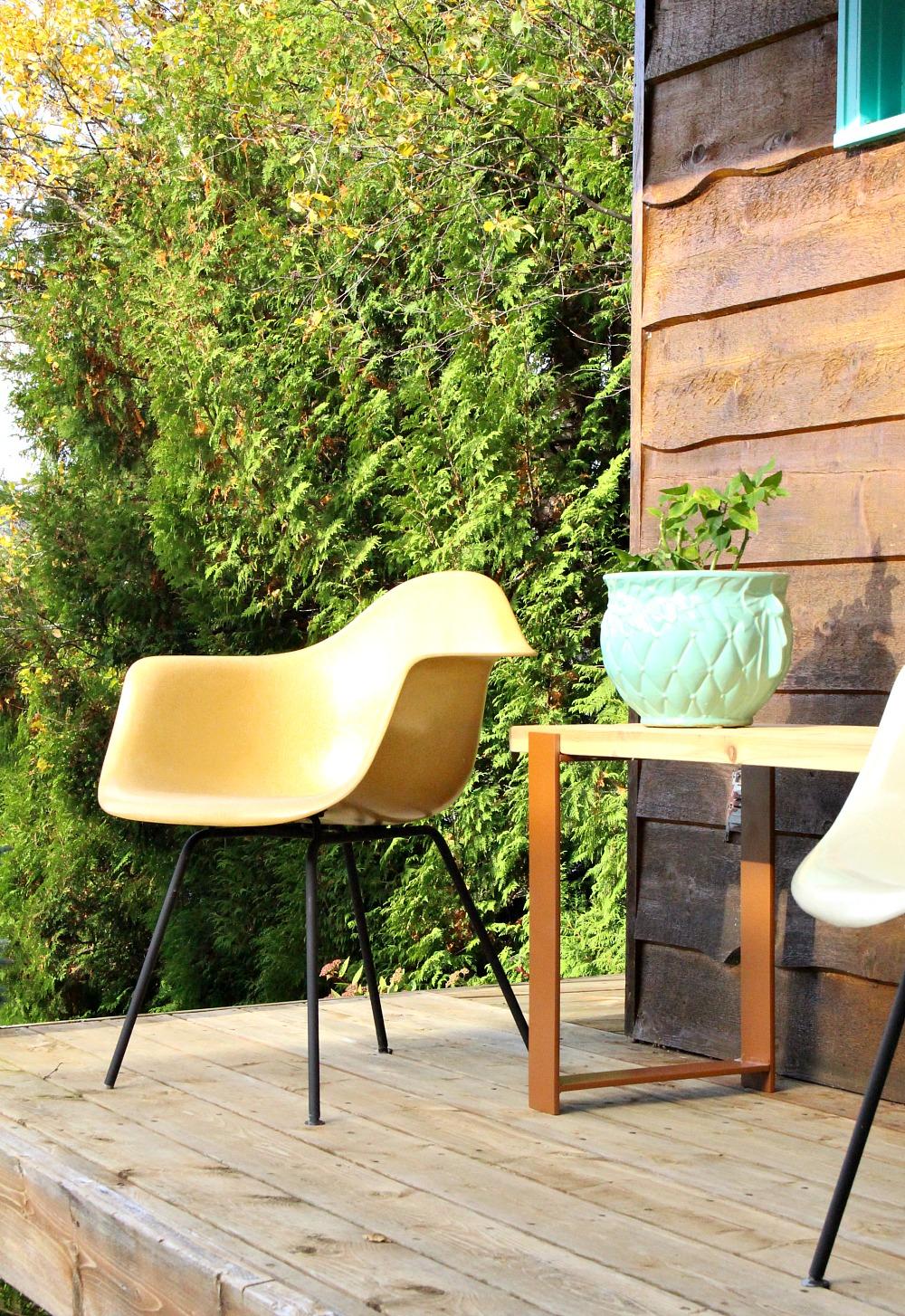 Enjoyable Diy Outdoor Bench With 2X4 Top And Welded H Legs Dans Le Creativecarmelina Interior Chair Design Creativecarmelinacom