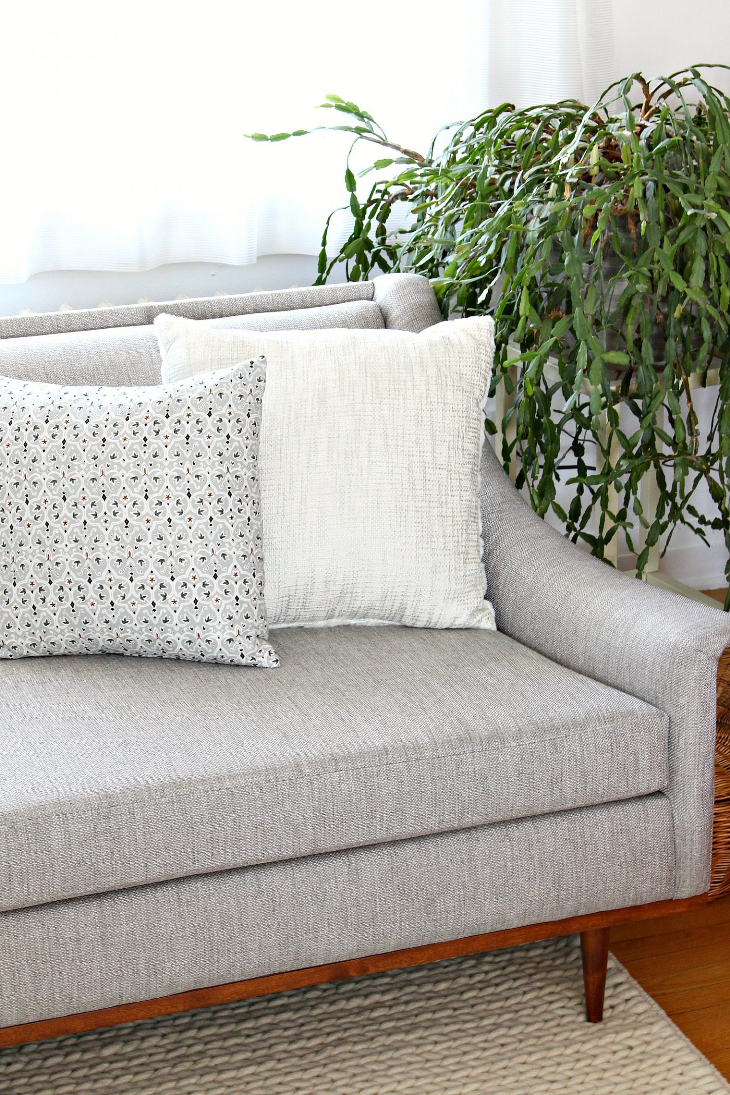 Vintage Sofa Makeover Project
