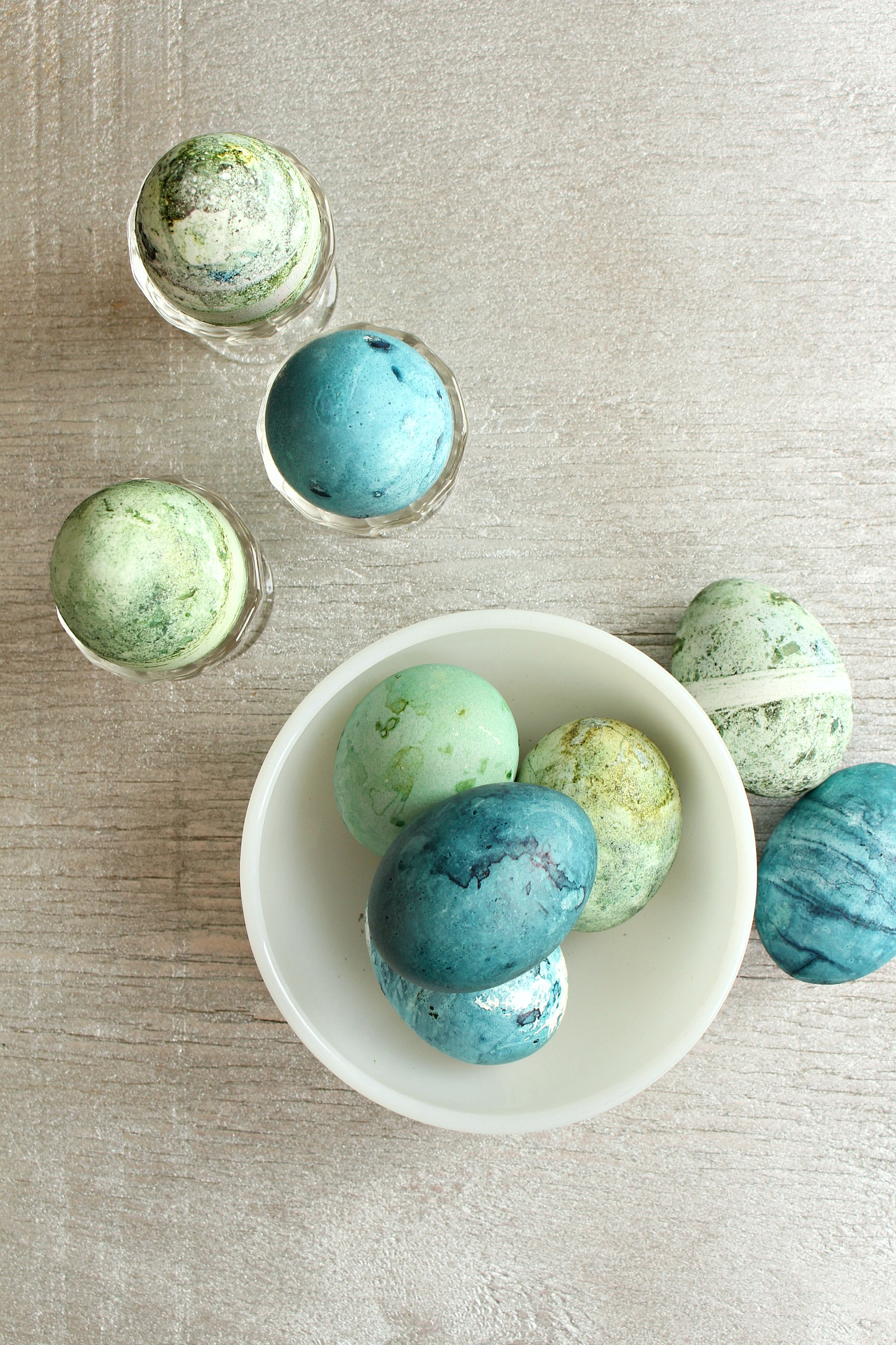 Speckled Easter Egg DIY