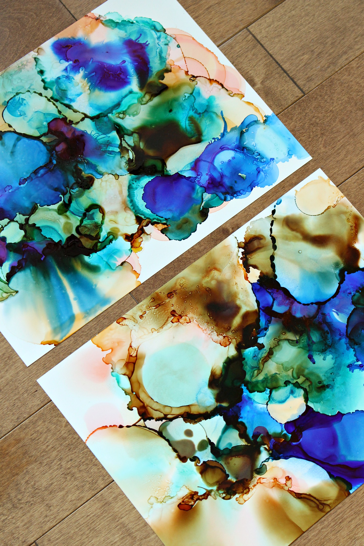 DIY Alcohol Ink Art
