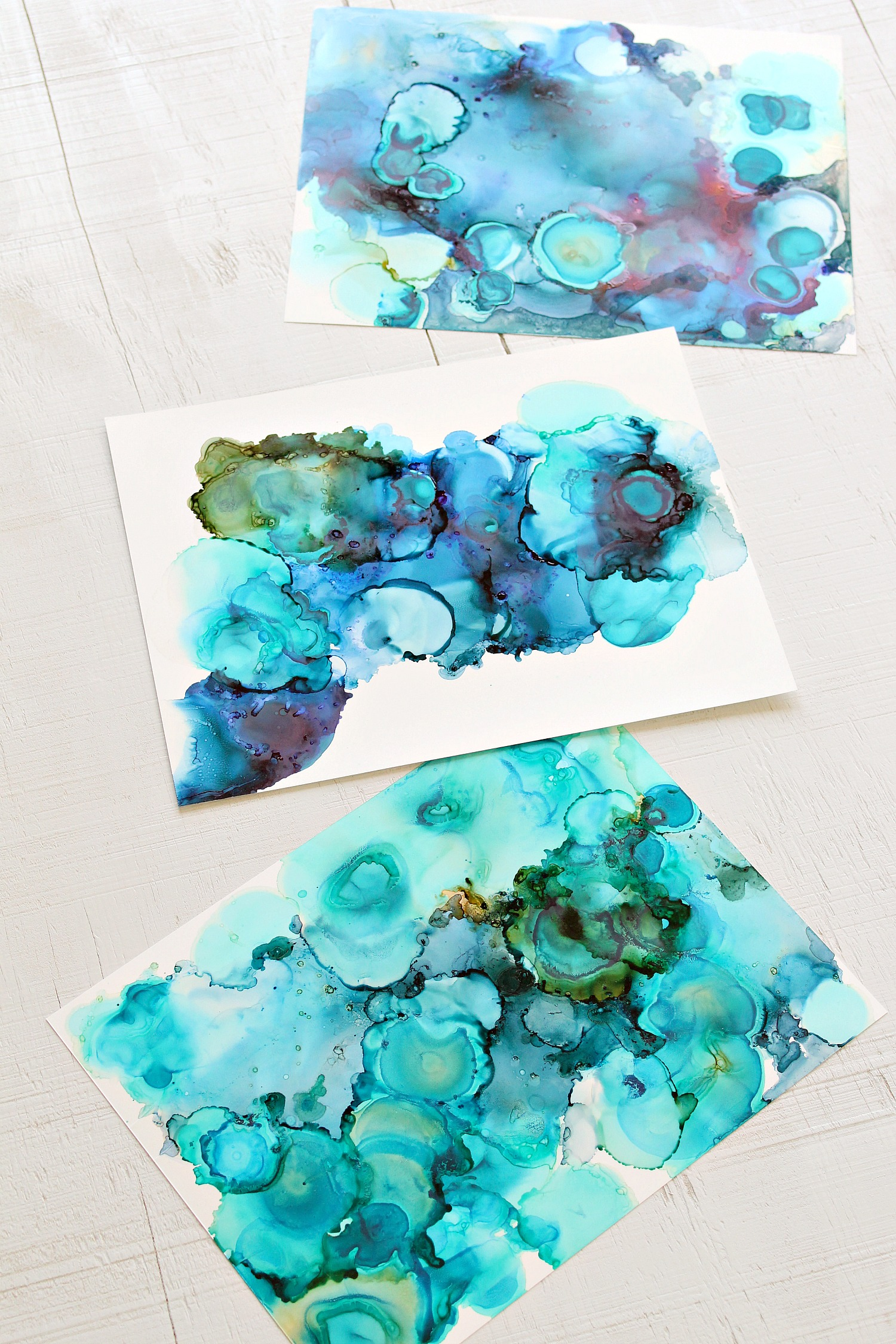 How to Make Alcohol Ink Art