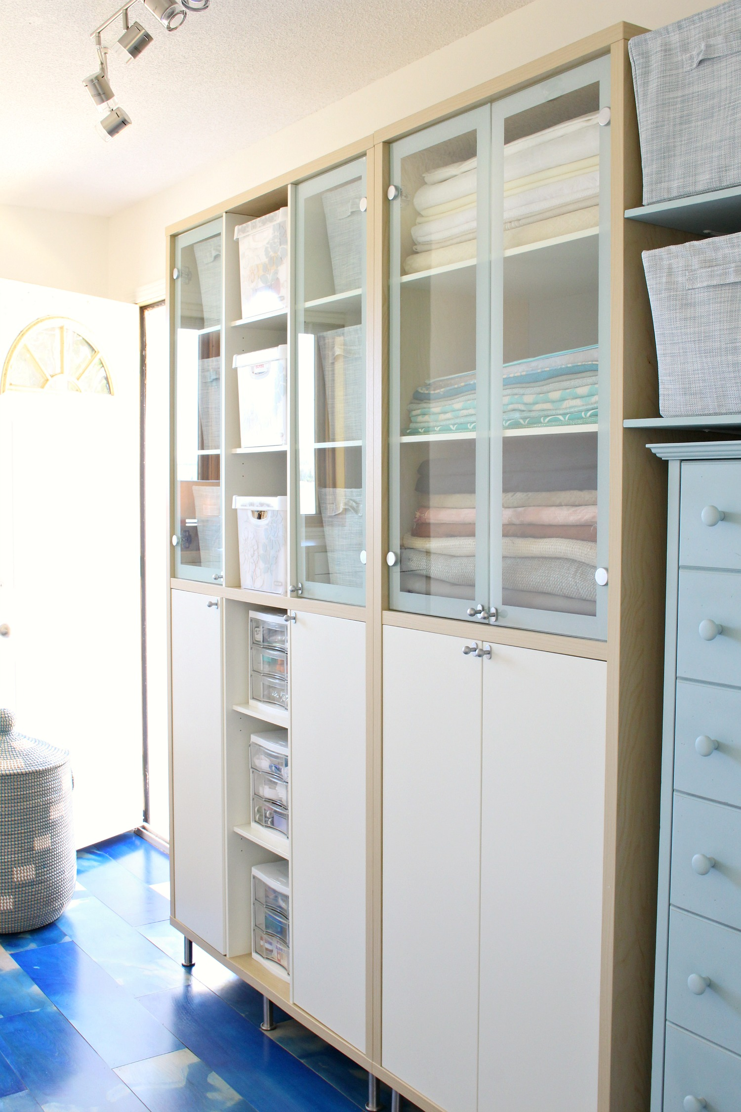 Craft Room Makeover with IKEA Storage