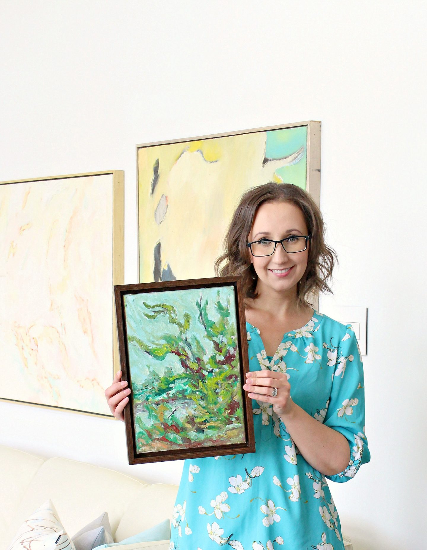 How to Build an Easy DIY Floating Frame for Art