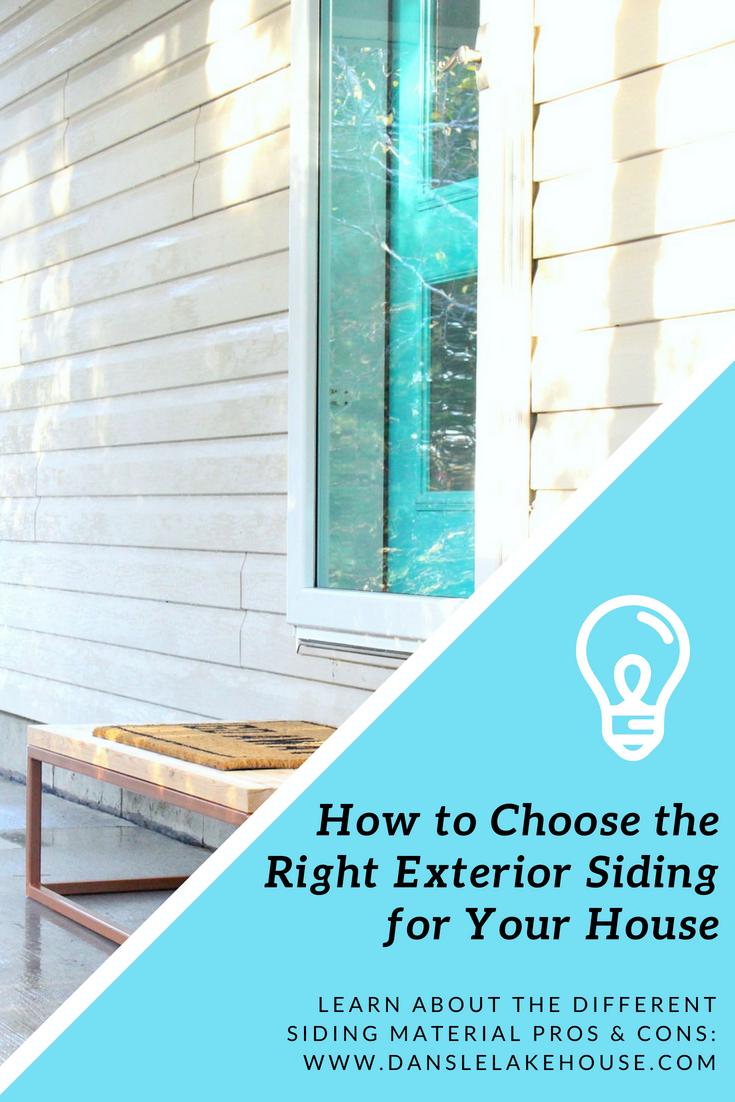 Siding Material Pros & Cons