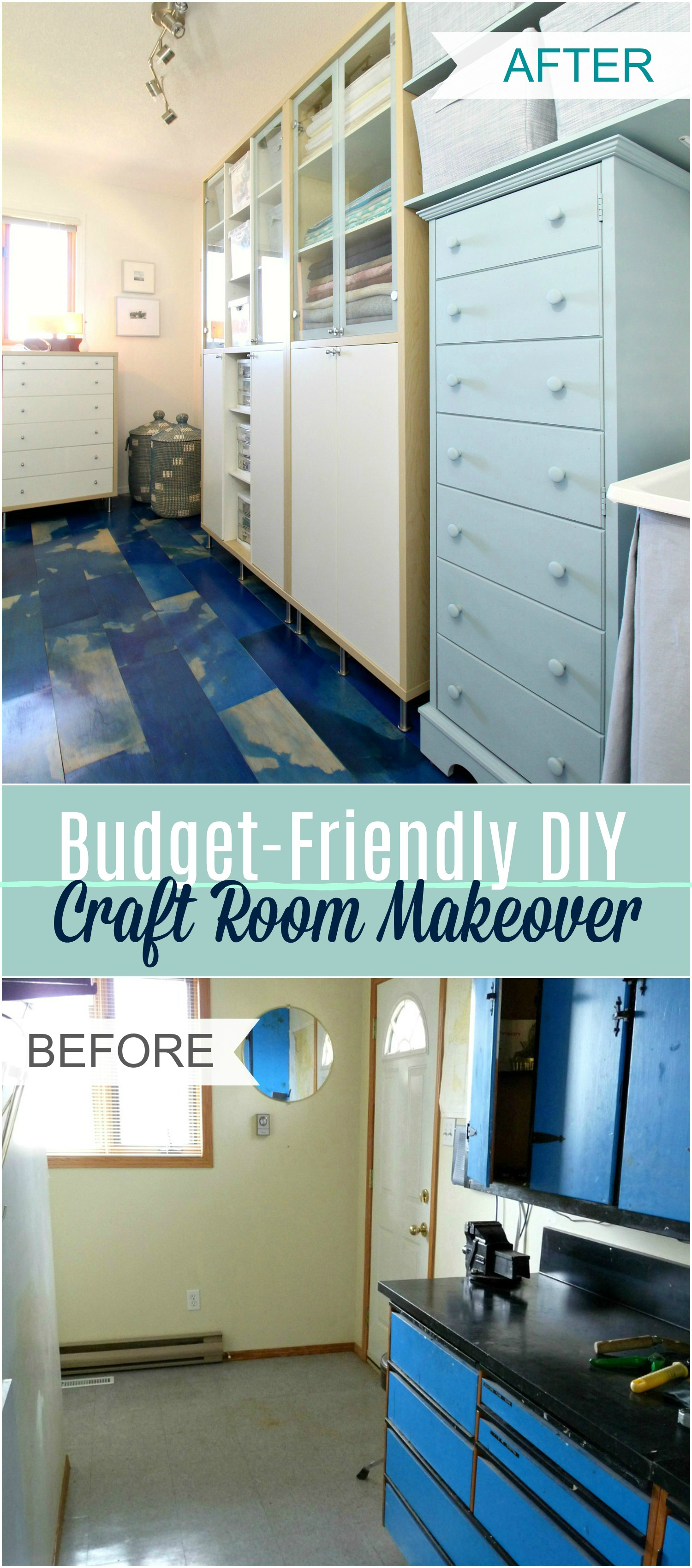 diy craft room makeover