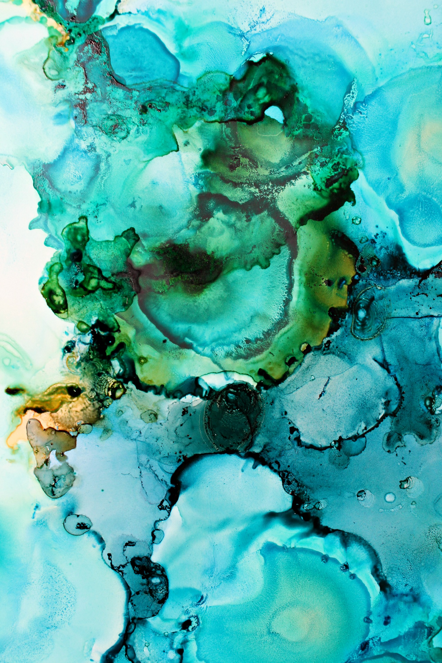 Alcohol Ink Art