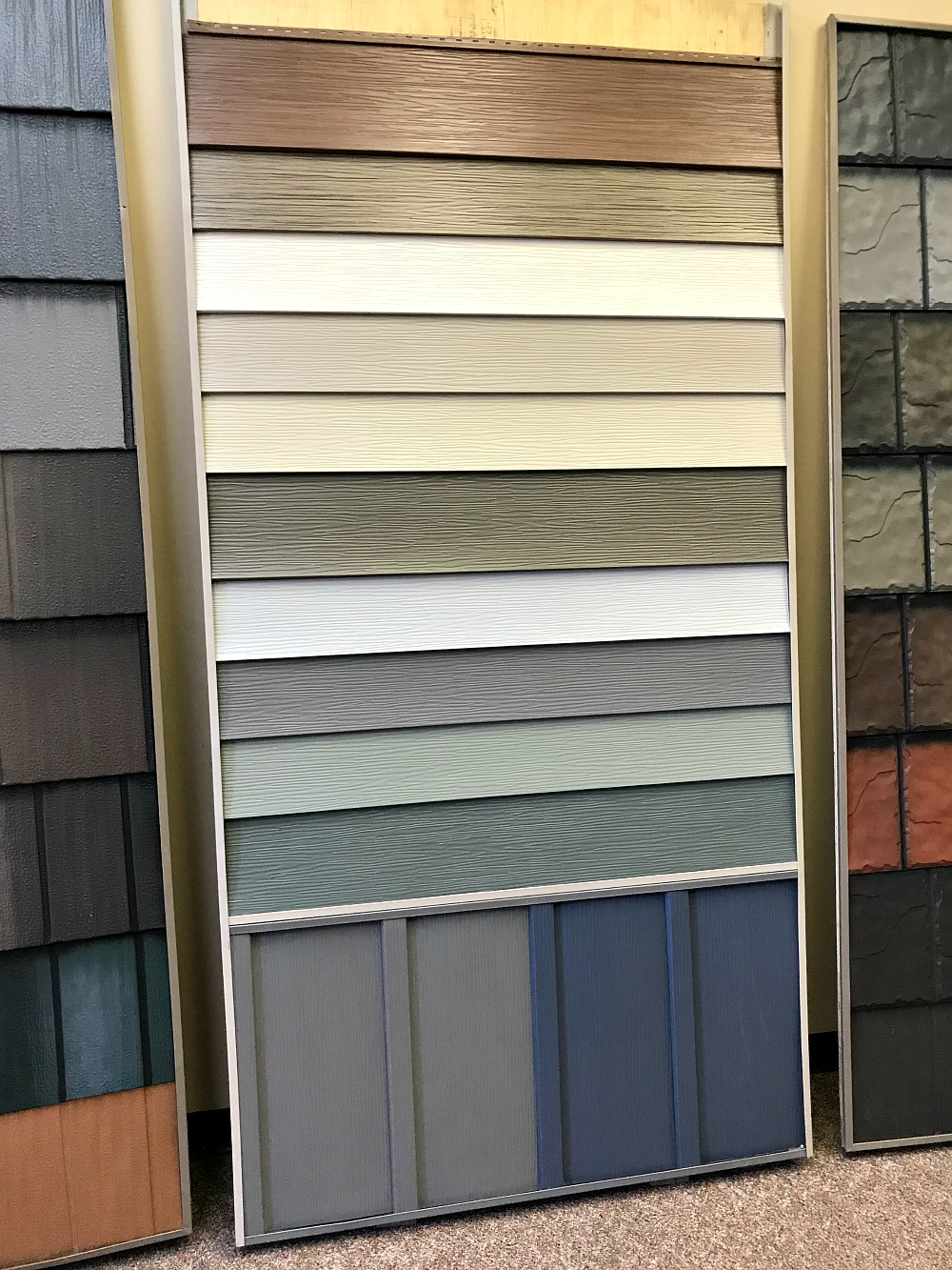 Steel Siding Recycled Materials : Siding material pros cons dans le lakehouse