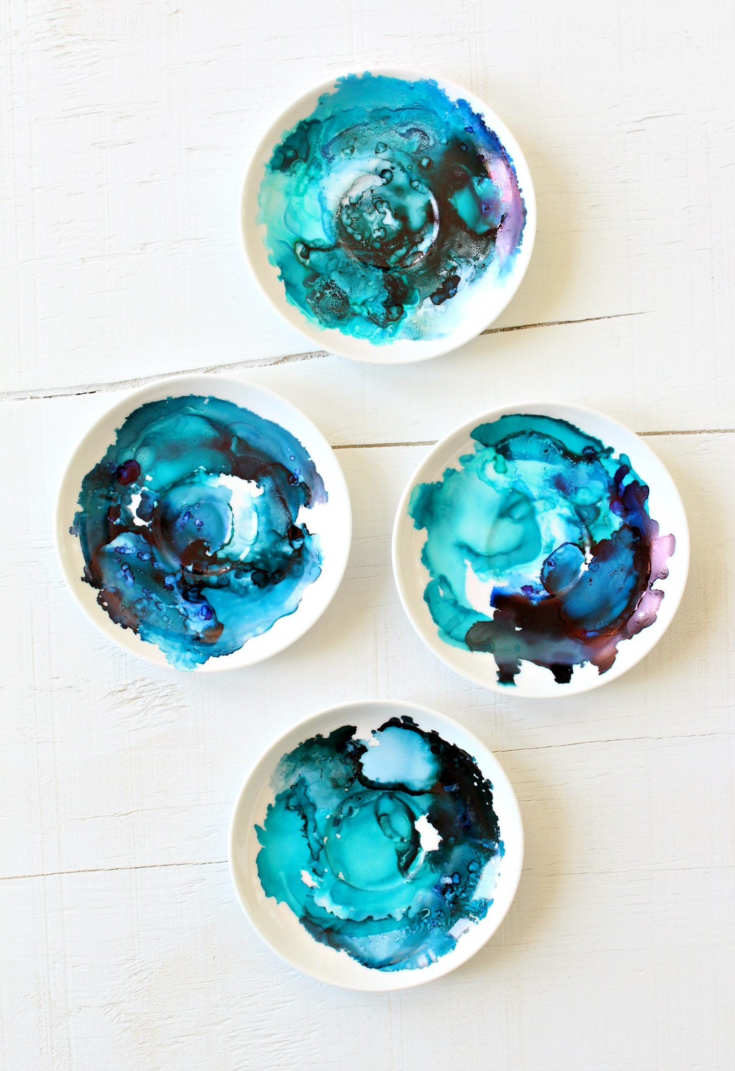 DIY marbled project ideas