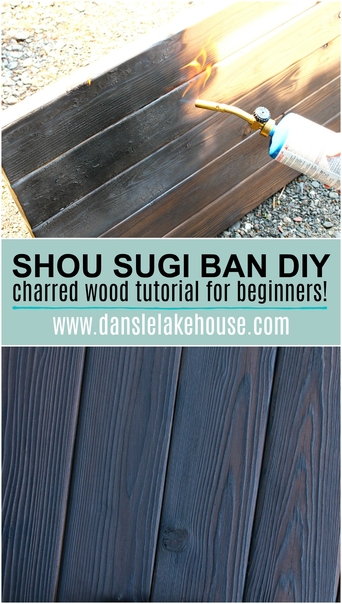 Shou Sugi Ban Anese Wood Burning