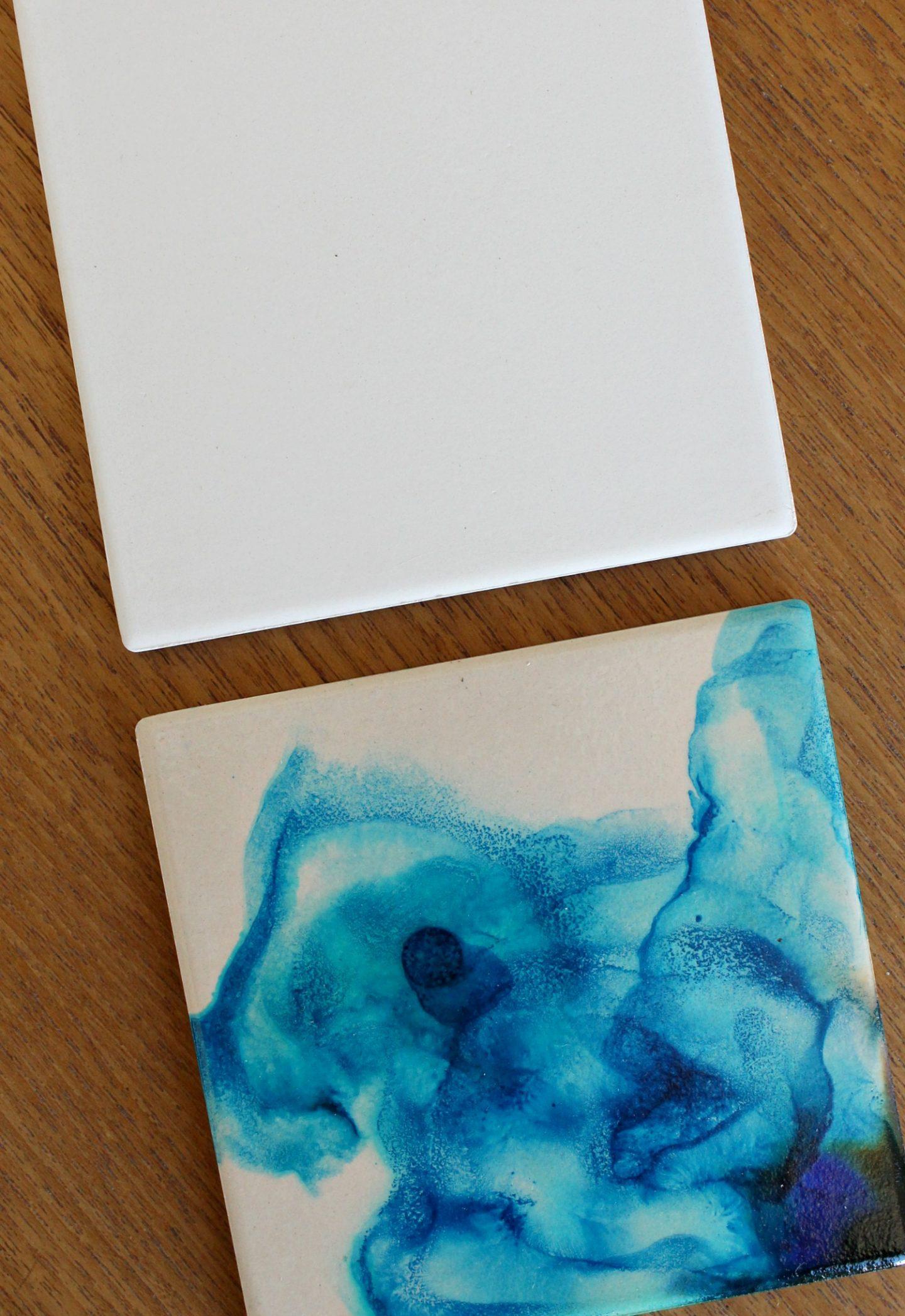 Turn Plain Tiles into Coasters