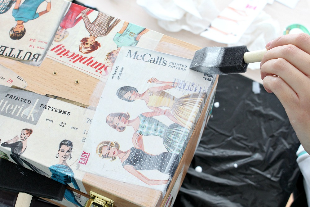 Decoupage Tips