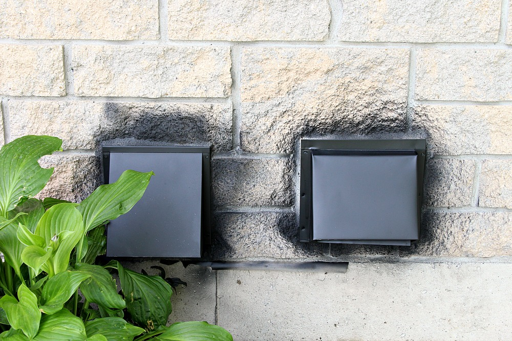 Spray Paint Exterior Vents