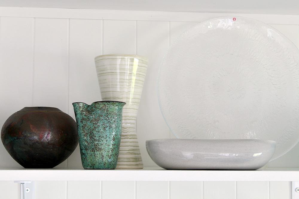 Pottery Collection - Love the Raku and McCoy Harmony Vase