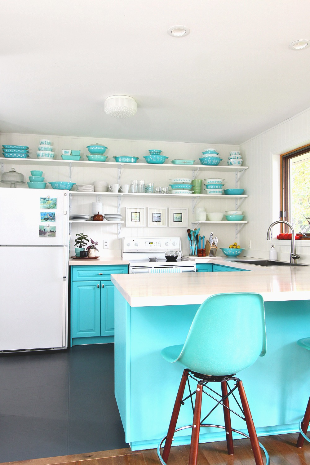 Turquoise Kitchen Design