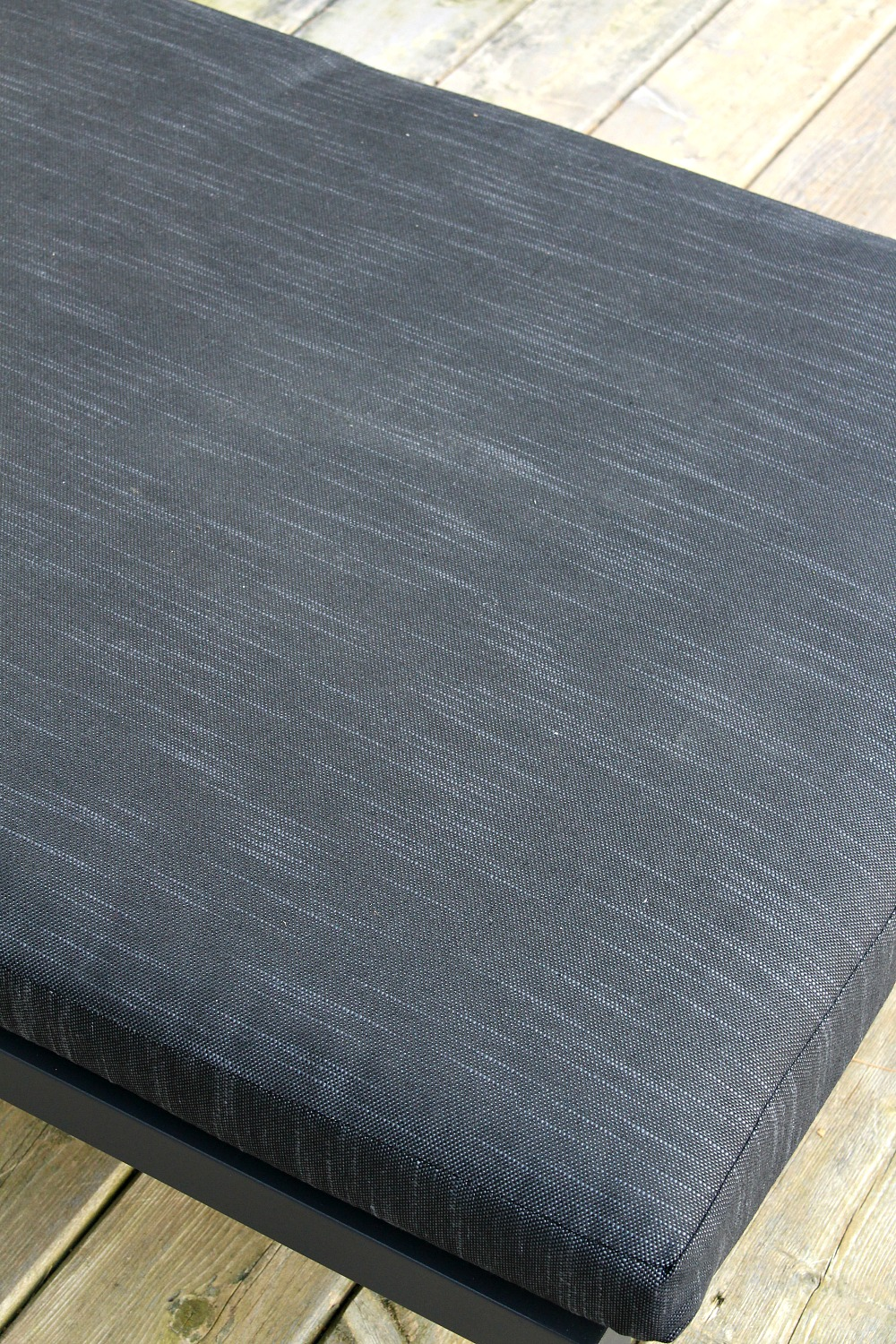 Dark Grey Patio Lounger Cushion