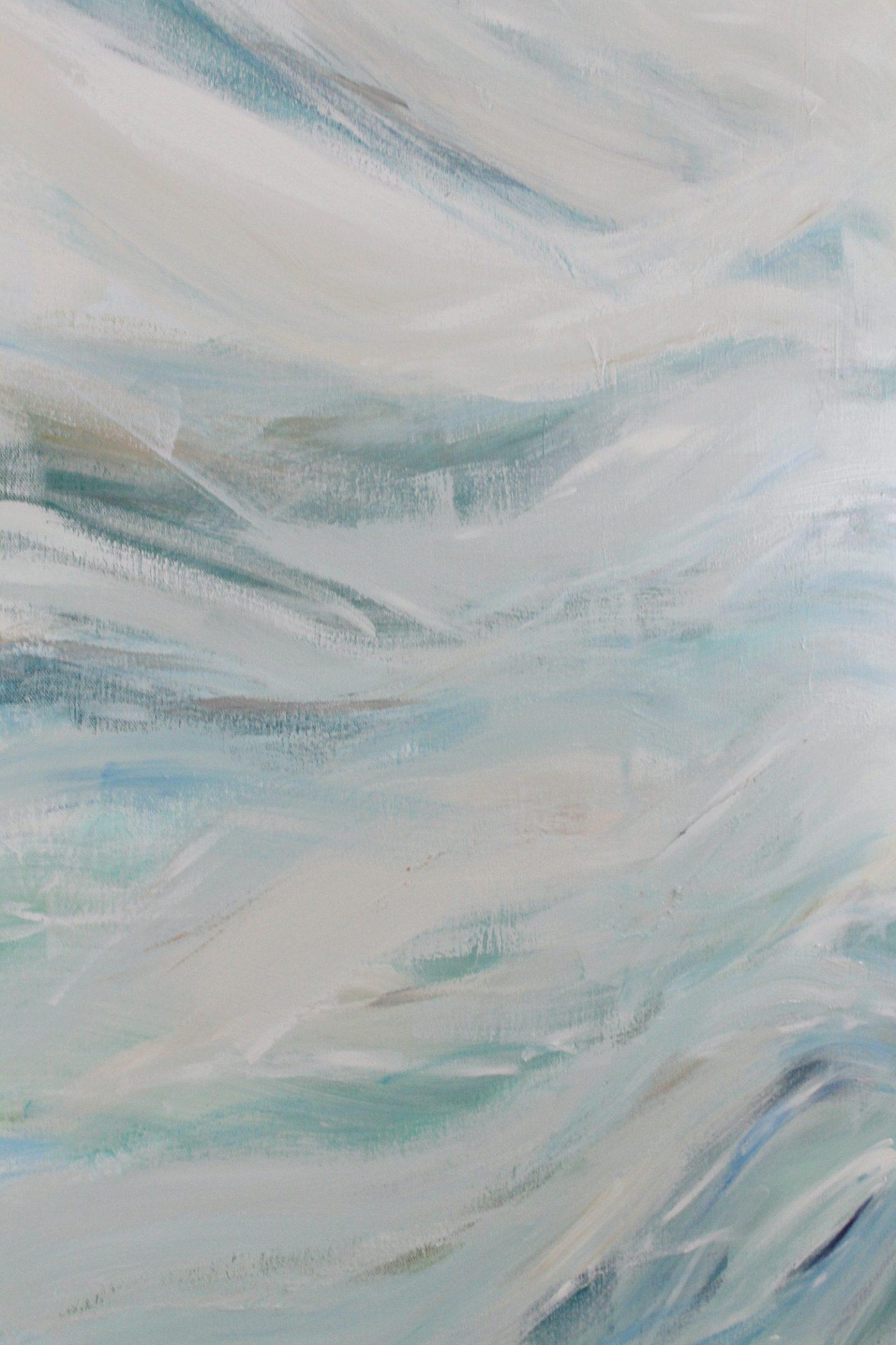 DIY Waves Painting