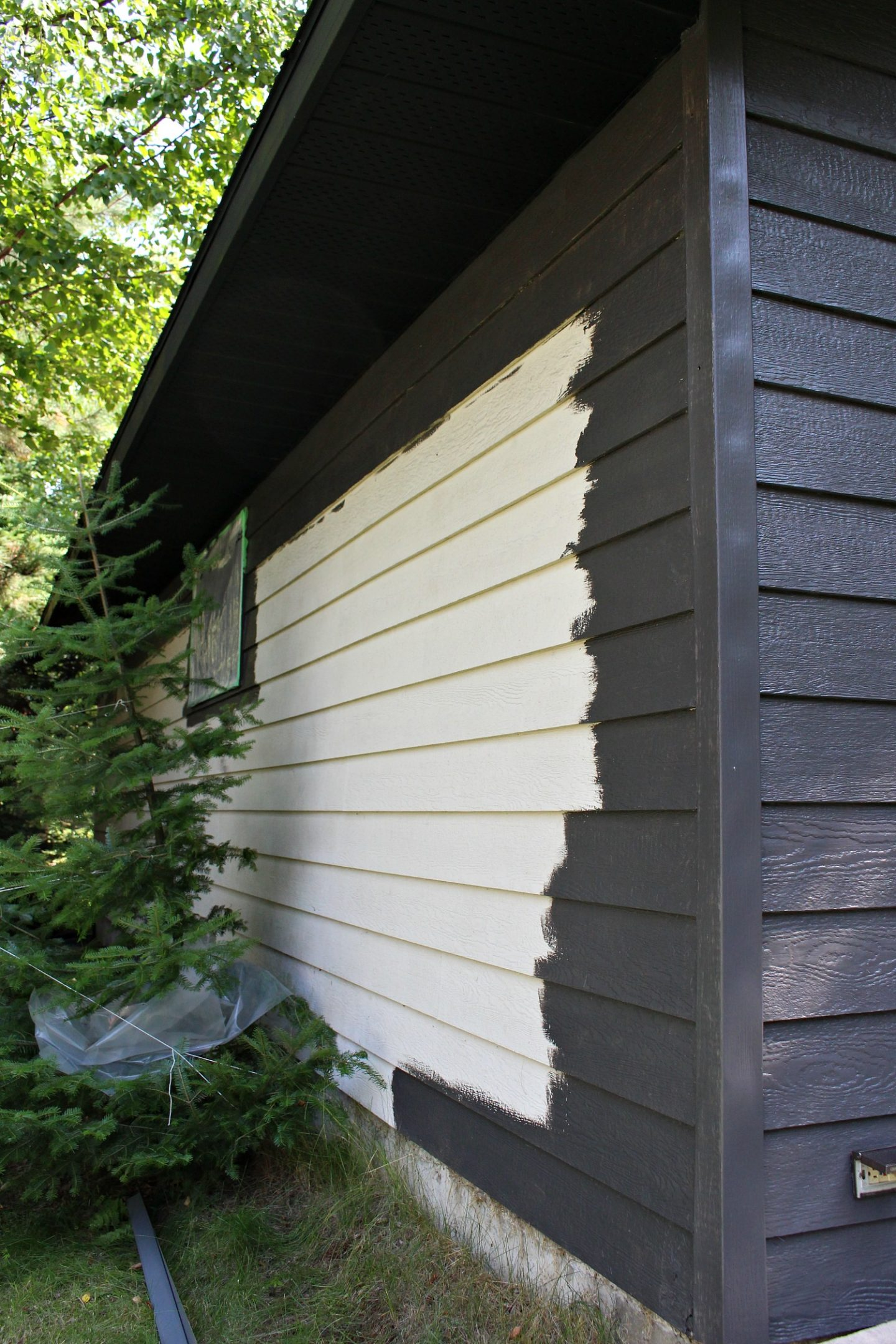 Garage Makeover: Painting Siding with a Paint Sprayer (Wagner Control Pro 150 Review)