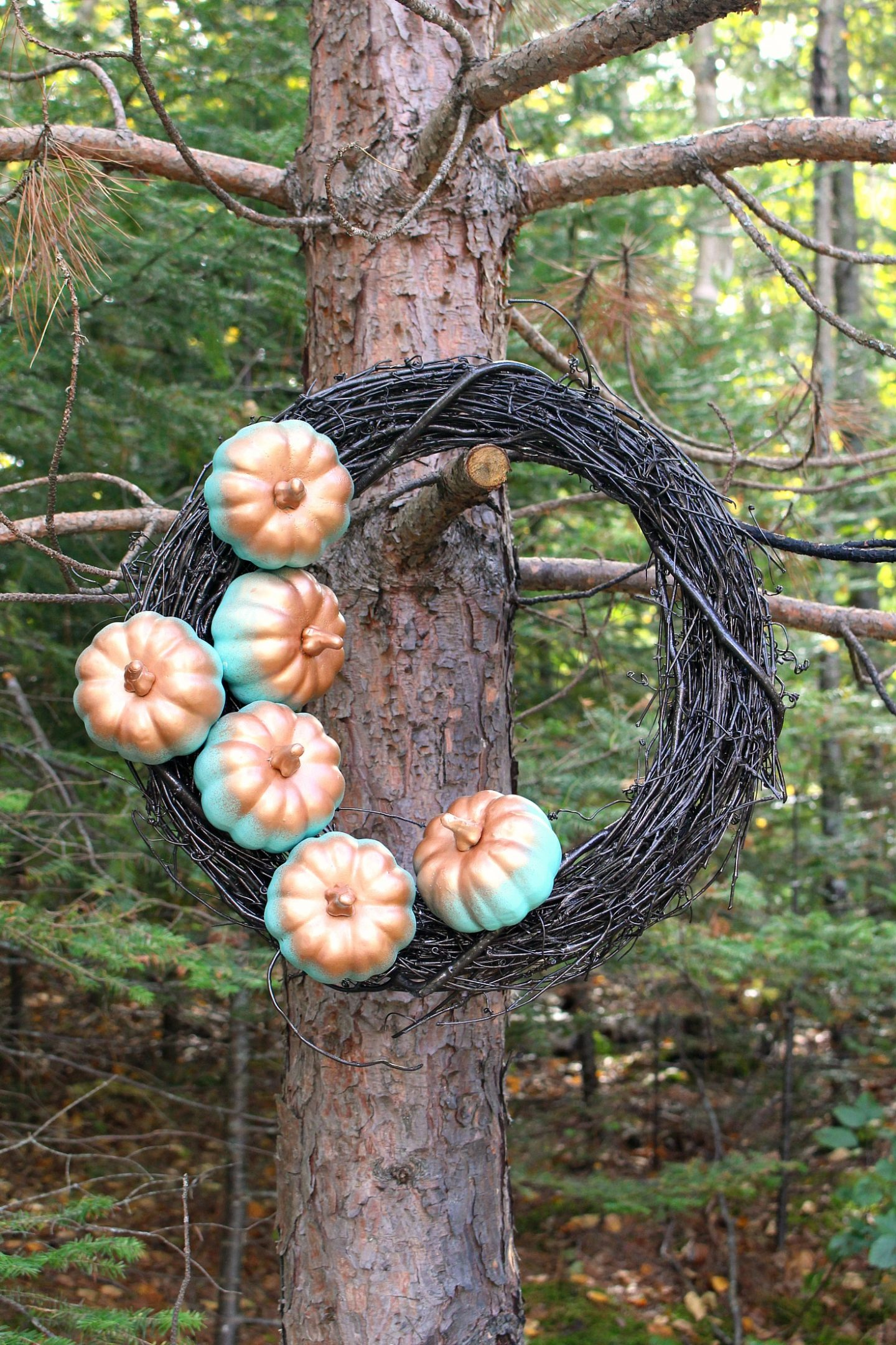 Easy DIY Fall Wreath