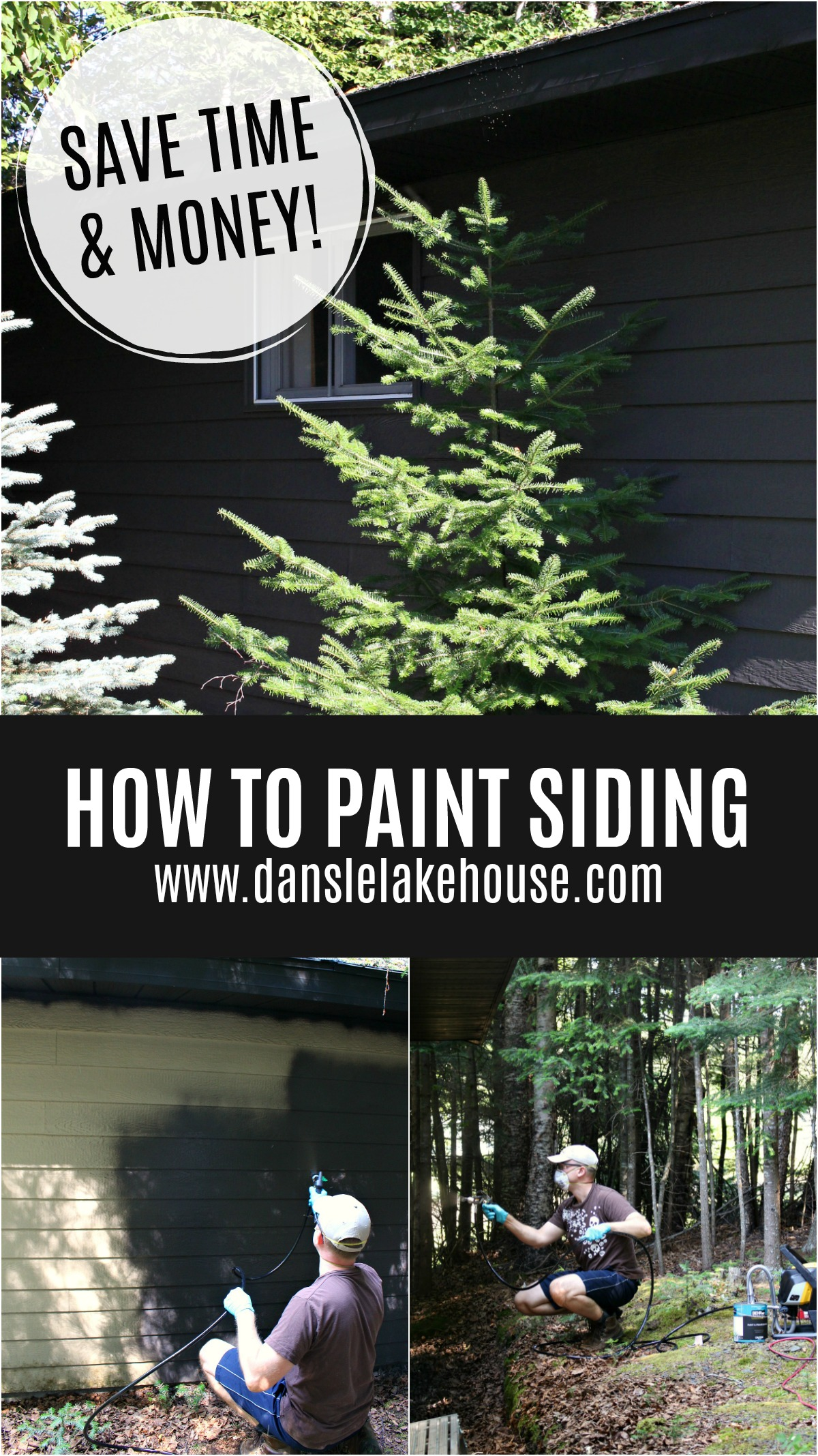 How to Paint Siding
