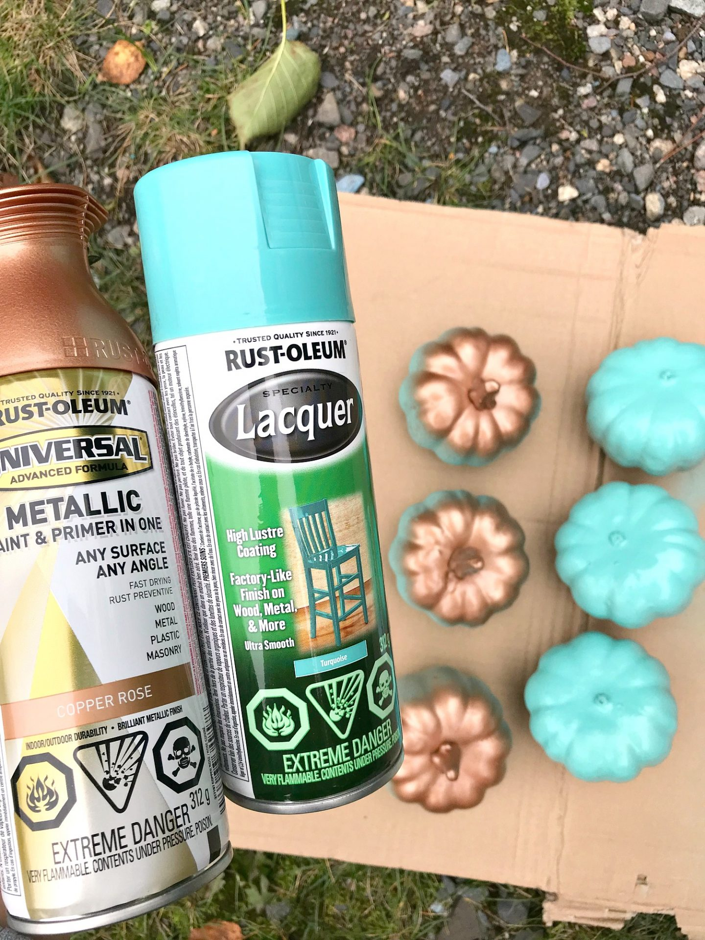 Turquoise Lacquer Spray Paint