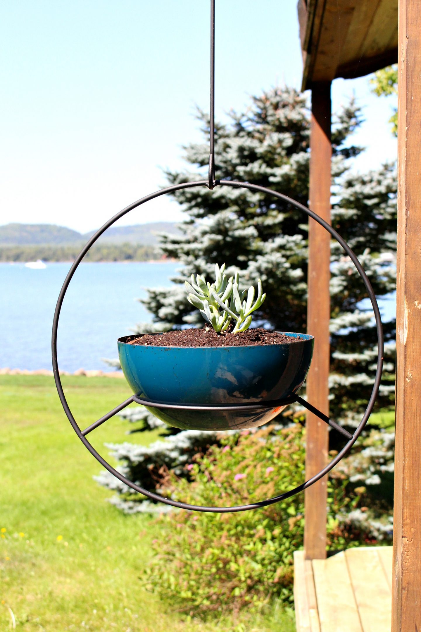 Vintage Hoop Planters: DIY and Where to BUY