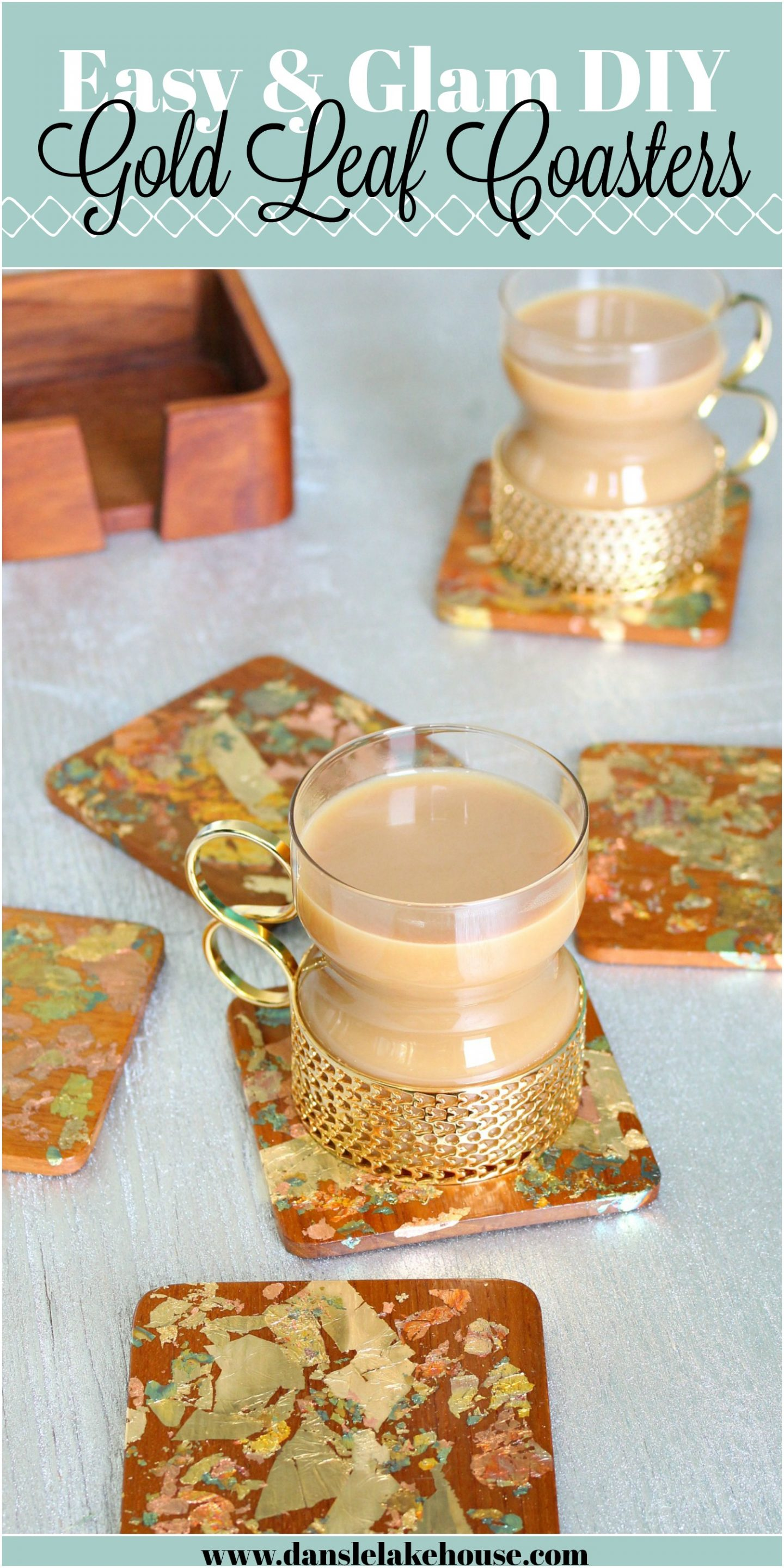 DIY coaster ideas for handmade gifts
