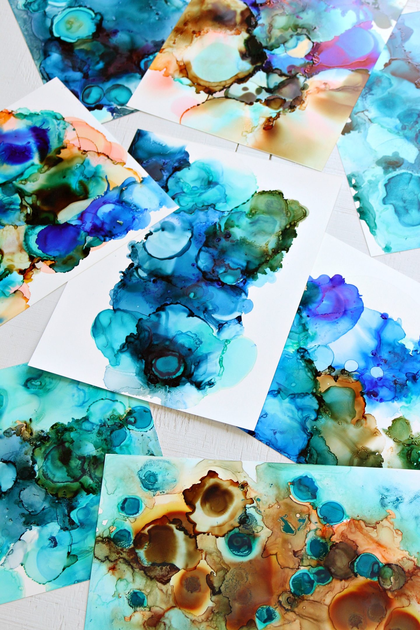 Learn How to Make DIY Alcohol Ink Artwork
