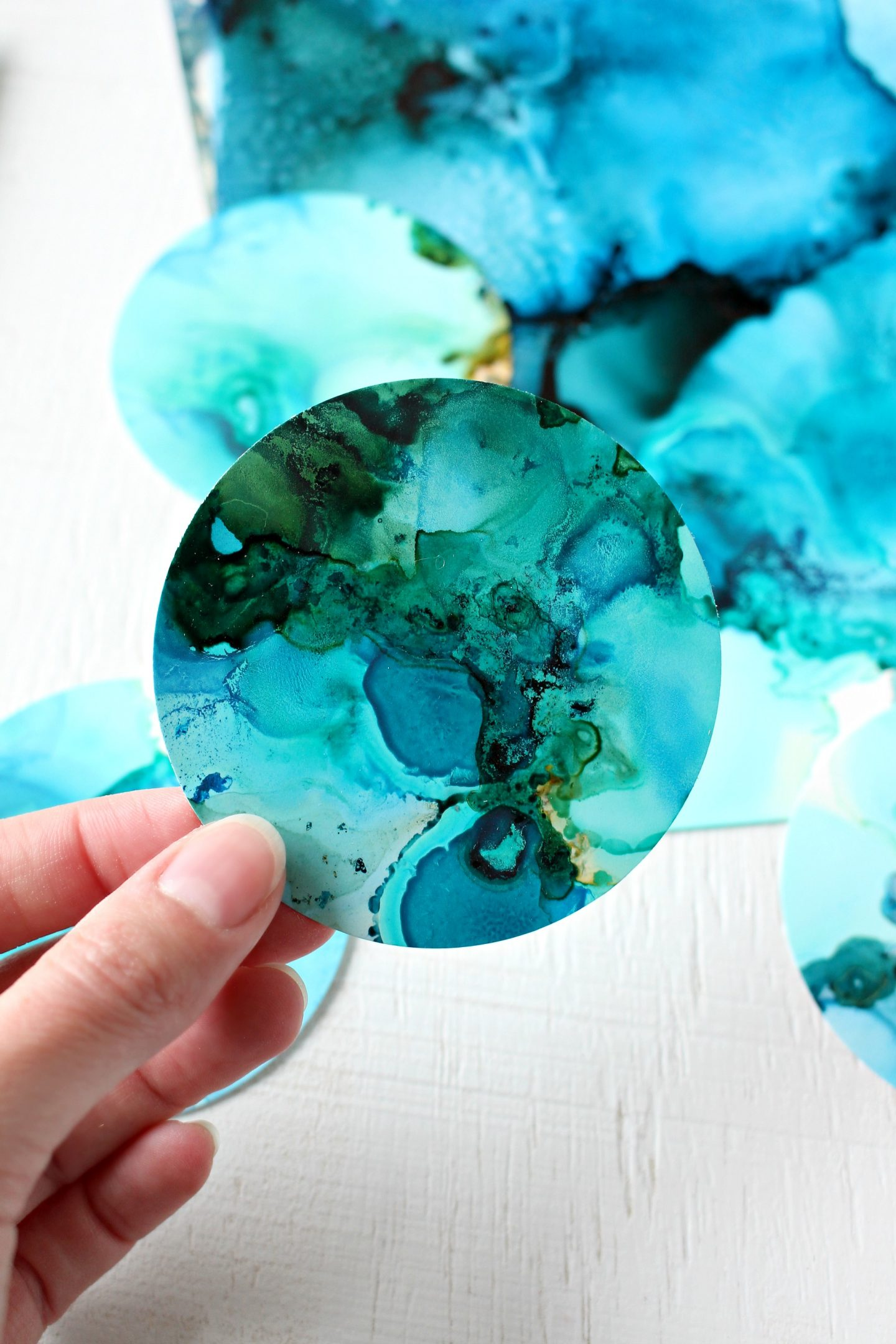 What to Make With Alcohol Inks