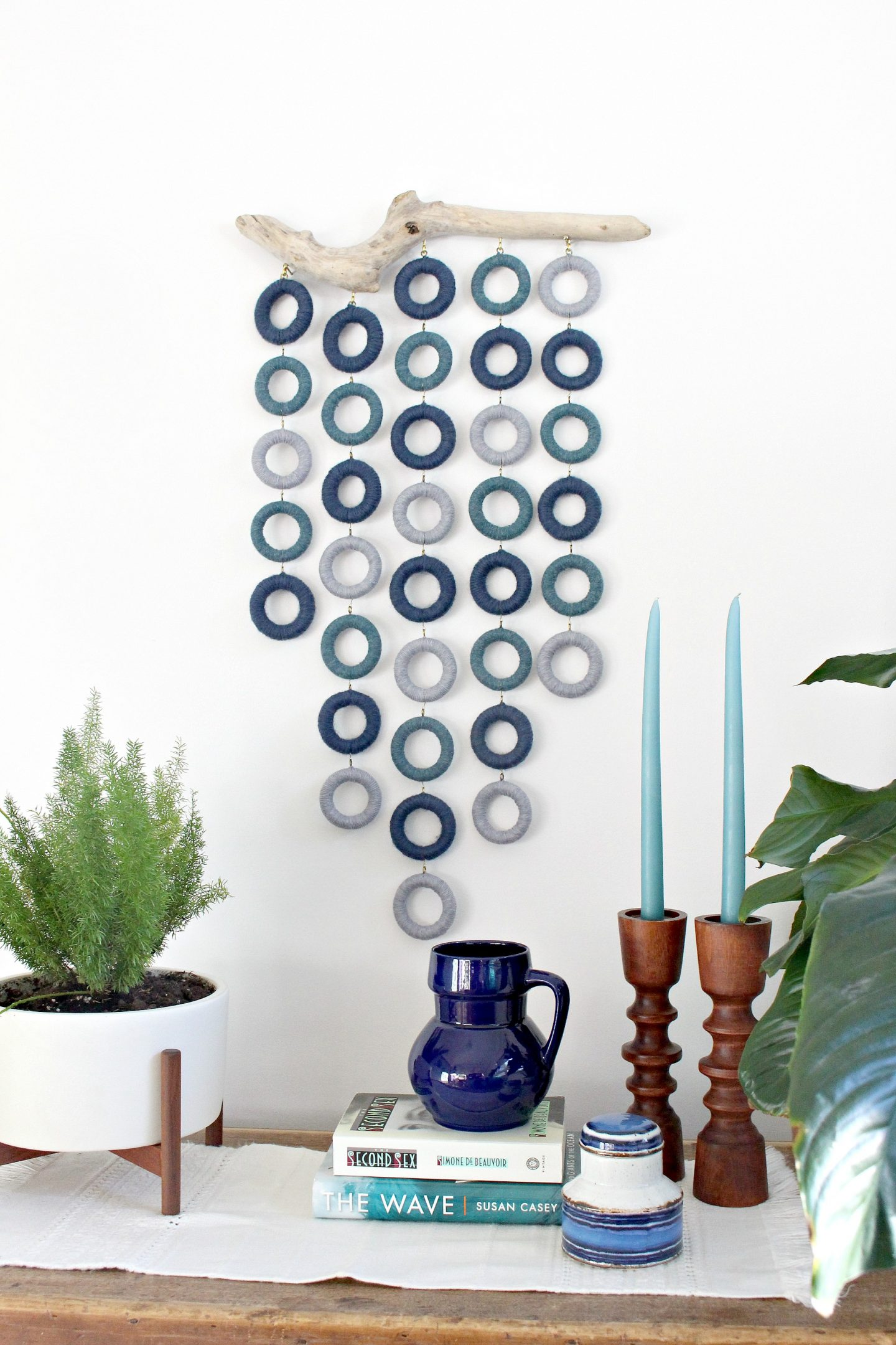 diy wall hanging art