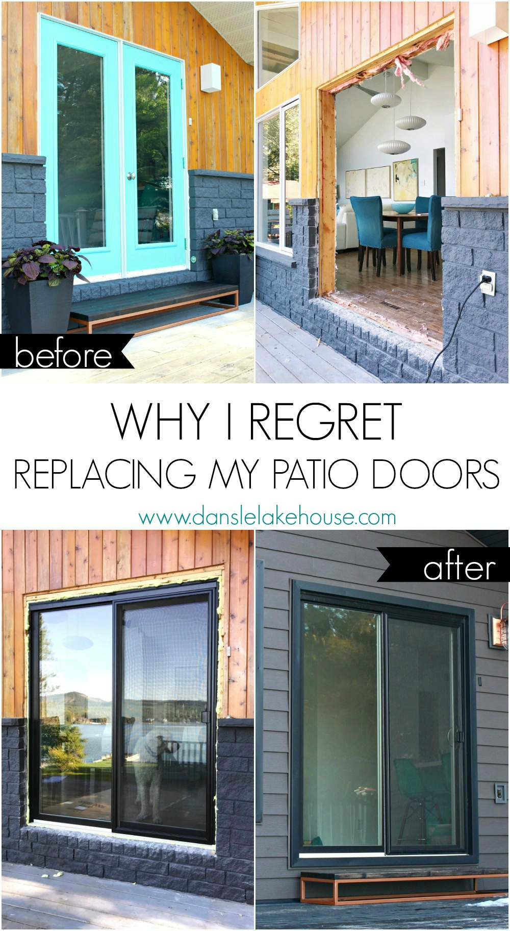 Why I Regret Replacing my Garden Doors for Patio Doors