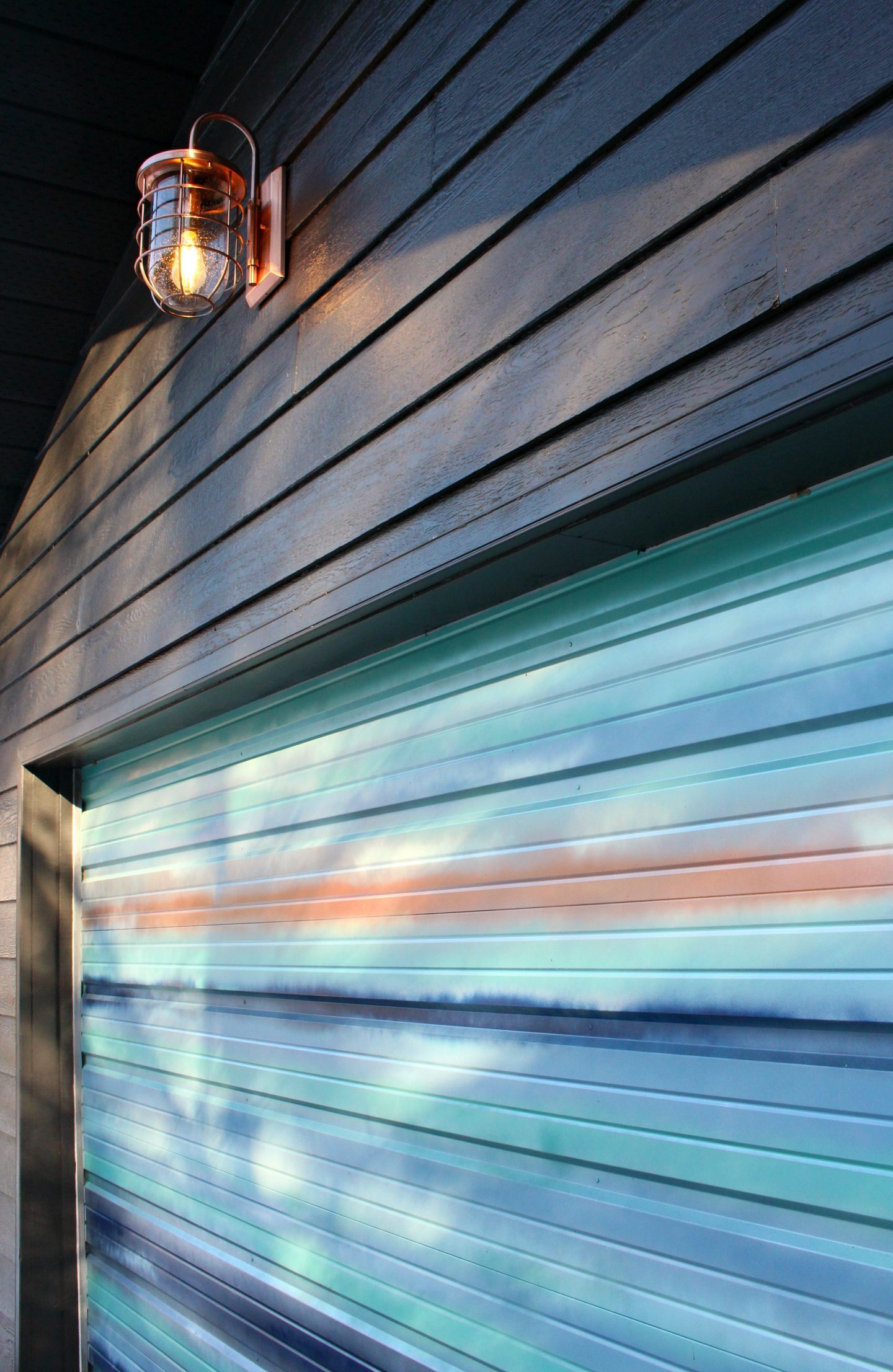 New Copper Outdoor Lights | Garage Makeover Before & After