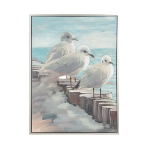 BEACHY SEAGULL ART