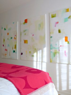 COLORFUL DIY ABSTRACTS