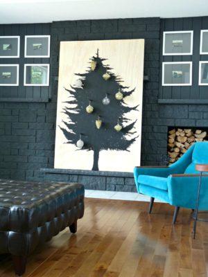 DIY PLYWOOD TREE ALTERNATIVE