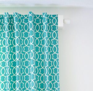 DIY BACKTAB CURTAINS