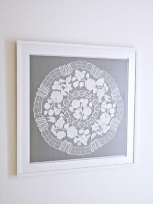 FRAMED HUNGARIAN EMBROIDERY