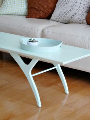 PAINTED MCM COFFEE TABLE