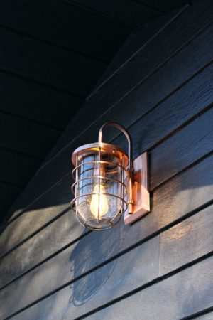 COPPER FERRY LIGHT AND GARAGE MAKEOVER