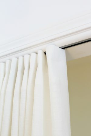 CURTAIN PANEL ON A TRACK