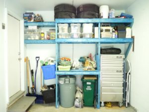 GARAGE MAKEOVER INSIDE