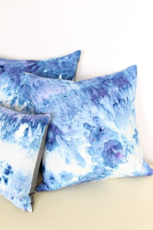 DIY CIE DYE PILLOWS
