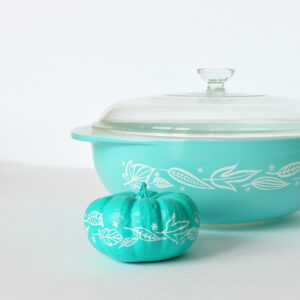 VINTAGE PYREX INSPIRED PUMPKIN DESIGN