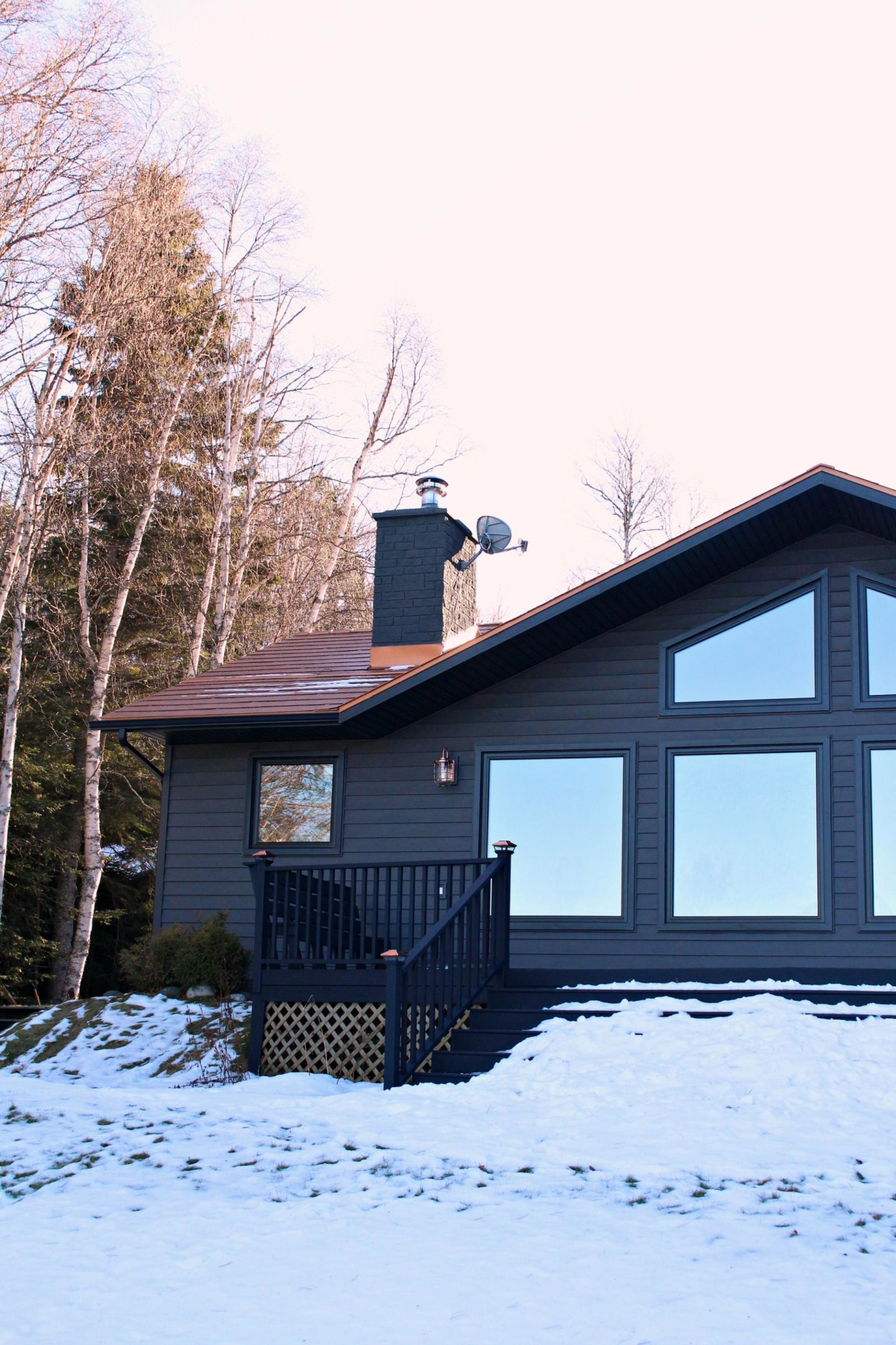 Dark Grey Metal Siding | Siding That Sparkles!